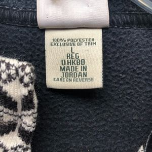 L.L. Bean Jackets & Coats - LL Bean Black and White Fleece Fair Isle Vest